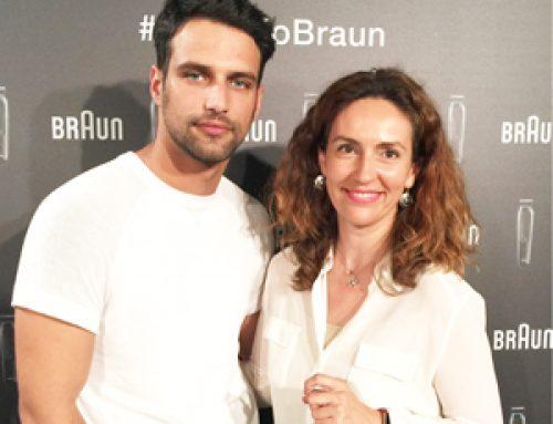 Jesús Castro y Rocío Crusset embajadores de Braun