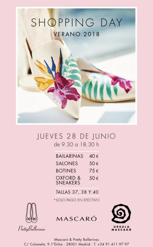 Mascaró shopping day verano 2018