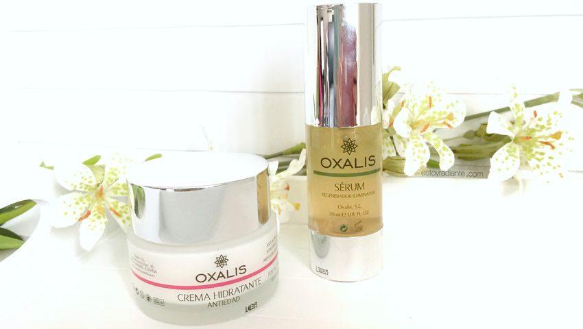 Oxalis serum y crema