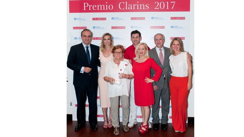 Premio Clarins 2017 & Donativo Clarins a Aldeas Infantiles SOS
