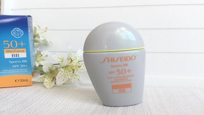 Protección solar BB-Shiseido