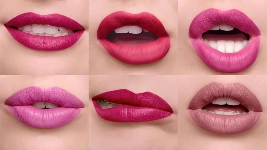 Barras de labios mate