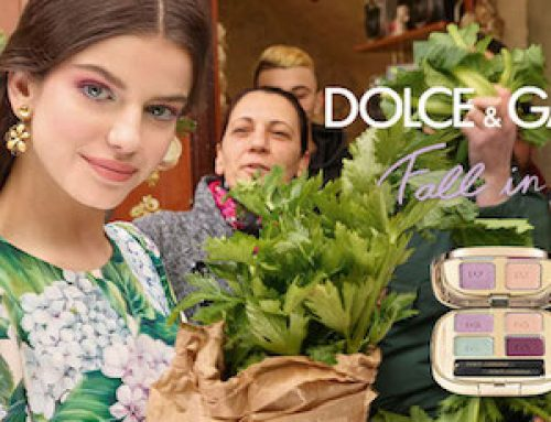 Maquillaje otoño 2017: Fall in Bloom de Dolce & Gabbana