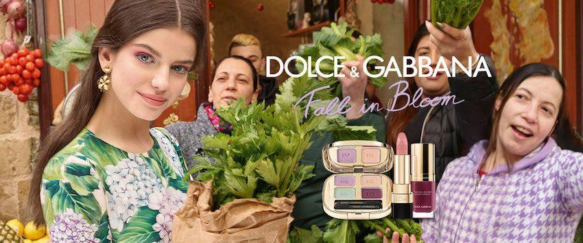 Dolce Gabbana make up fall in bloom