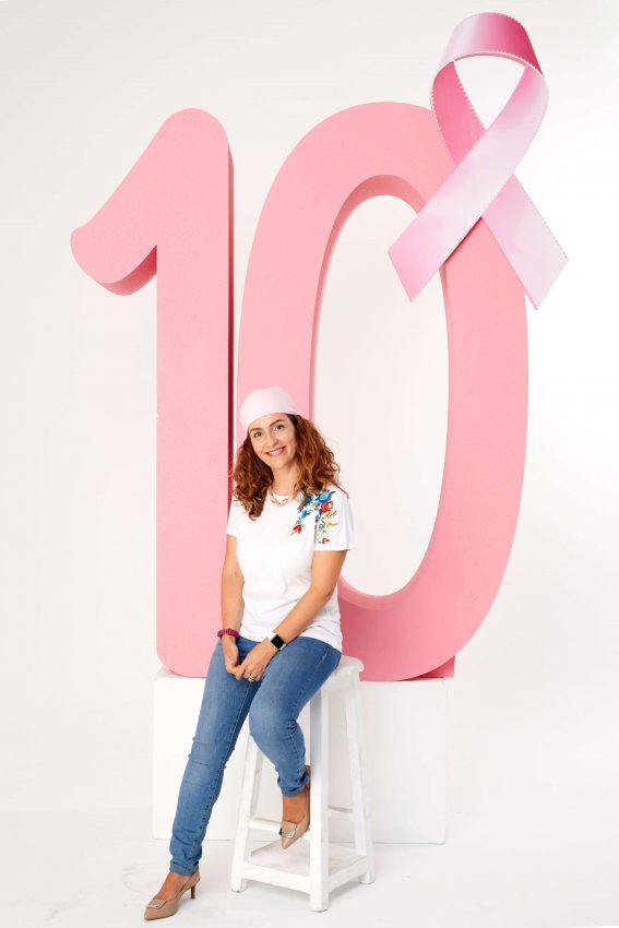 diez años lucha cáncer de mama