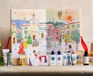 Loccitane calendario adviento