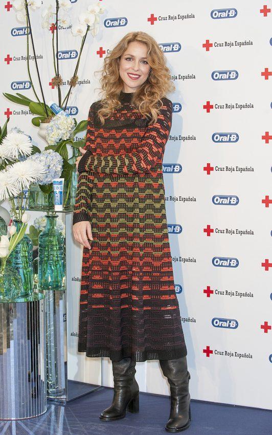 Silvia Abascal  proyecto Regala Sonrisas Oral-B y Cruz Roja