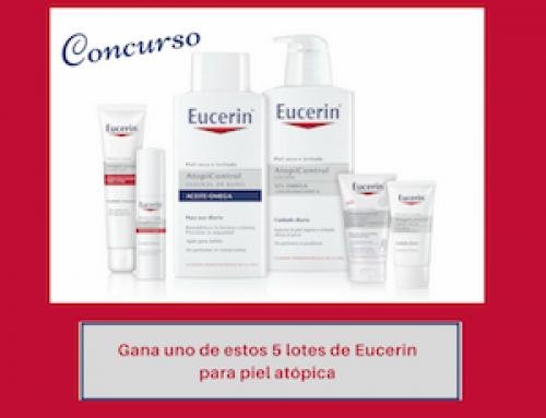 Sorteo de 5 lotes de productos de Atopia de Eucerin