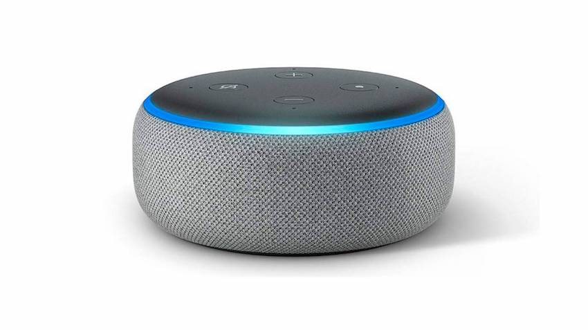 altavoz inteligente echo dot