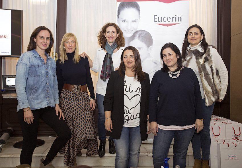 Eucerin taller corporal bloggers