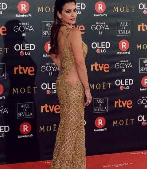 Monica Cruz Peinado premios goya