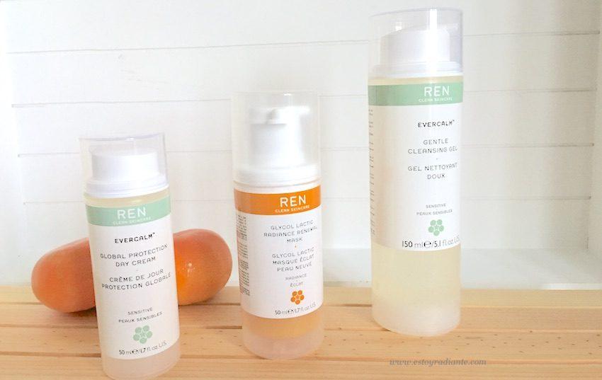REN skincare cosmética bio