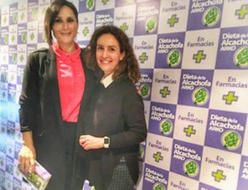 Rosa López, nueva embajadora de la Dieta de la Alcachofa Arkopharma