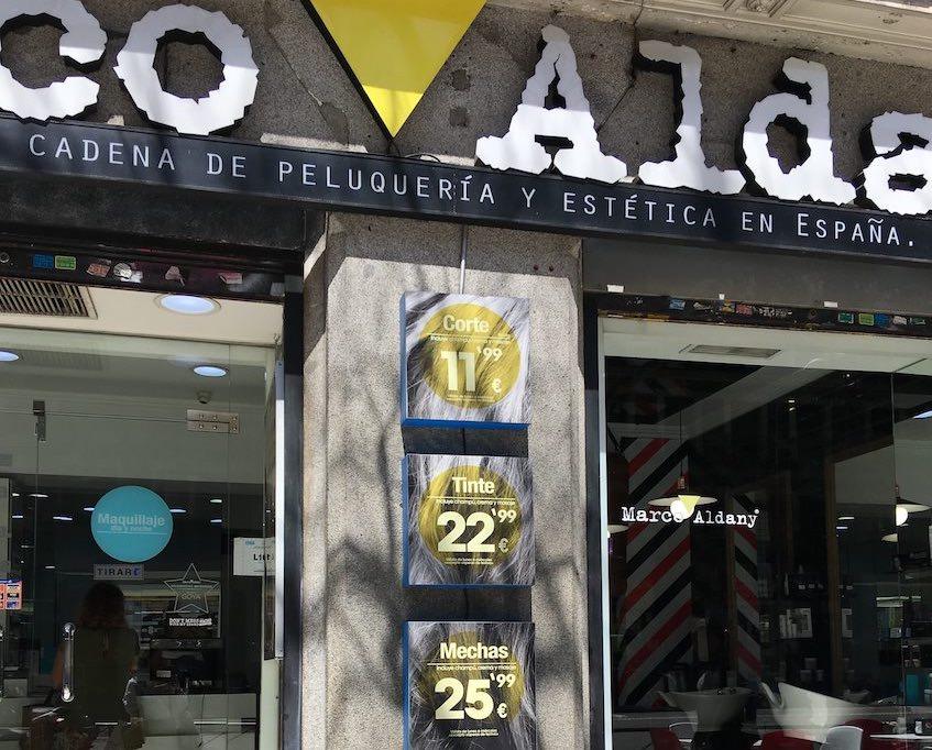 Marco Aldany precios