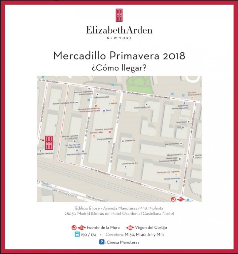 Mercadillo de PRIMAVERA de Elizabeth Arden 2018