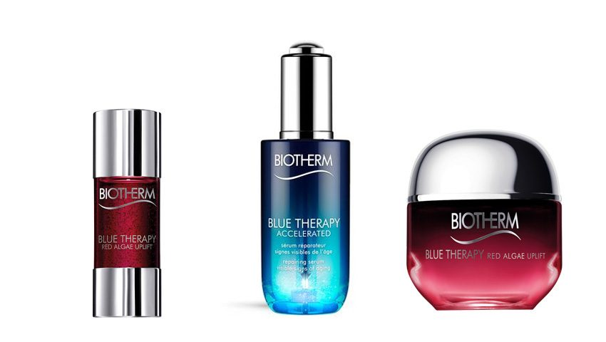 Blue Therapy rutina belleza día