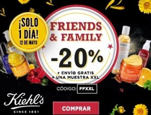 Ya está aquí el esperado Friends & Family de Kiehls 2018
