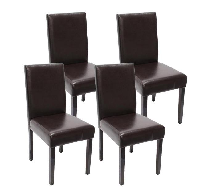 sillas de piel salón