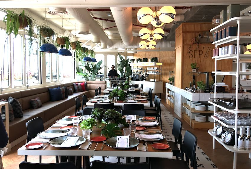 restaurante septima only you atocha
