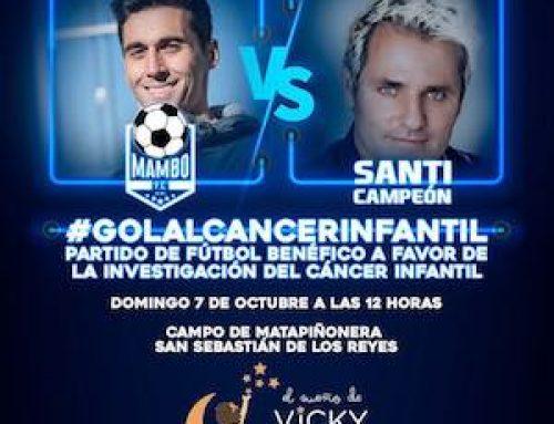 Partido de fútbol benéfico contra el cáncer infantil