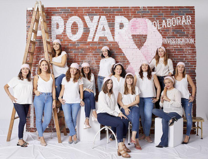 pañuelo rosa cáncer de mama bloggers