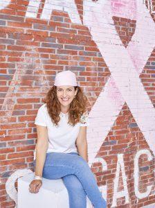 pañuelo rosa cáncer de mama