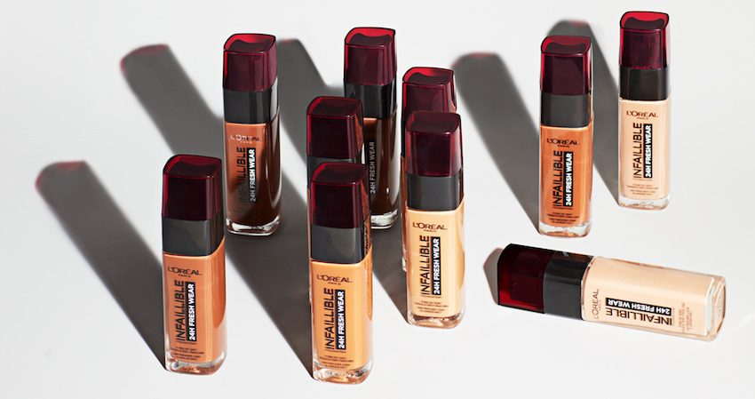Loreal maquillaje infalible 24 horas