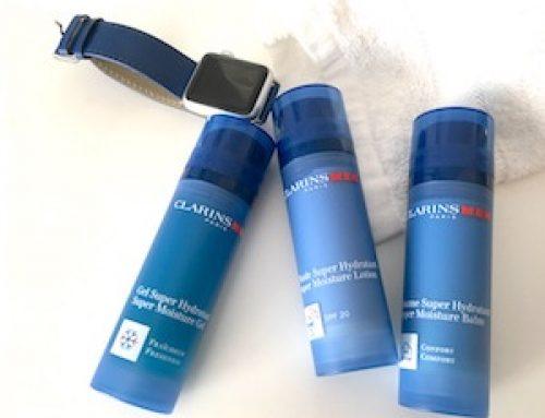 3 Nuevos Tratamientos Súper Hidratantes de Clarins Men