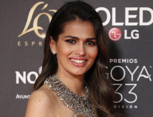 Sara Sálamo: maquillaje en los premios Goya