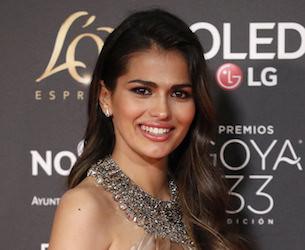 Sara Salamo maquillaje premios goya