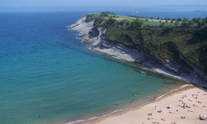 Playa de Mataleñas Santander