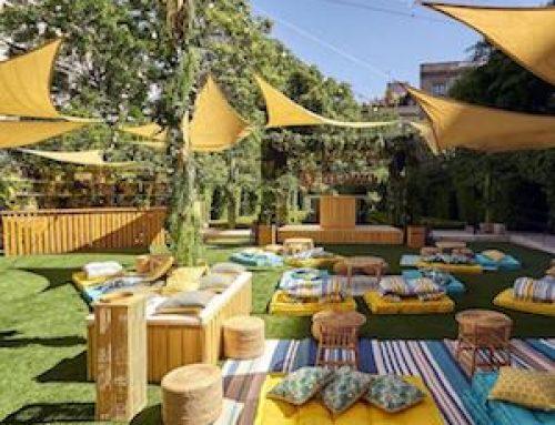 Casa Corona un afterwork de moda este verano en Madrid