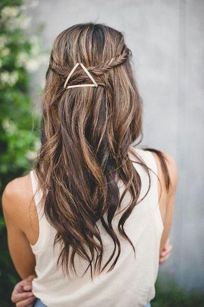 peinado horquilla