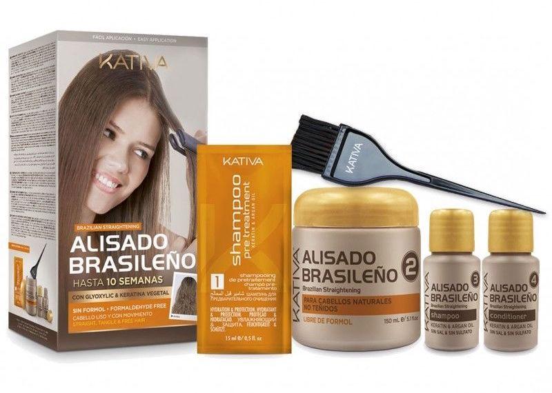 Kativa Keratina y Argán - Kit de Alisado Brasileño