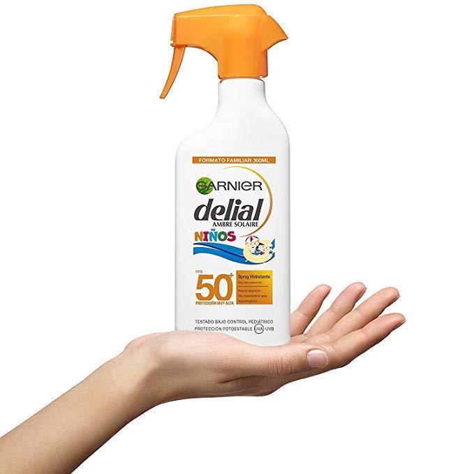 Garnier Delial Protector Solar en Spray para Niños