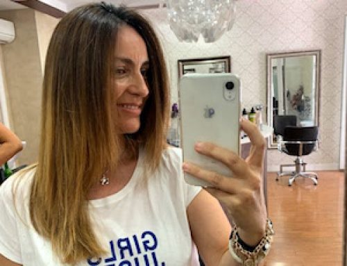 Cómo conseguir un brillo espectacular en tu cabello: Perla Negra