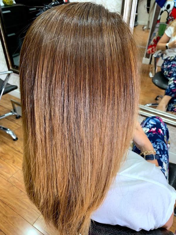 cabello brillante