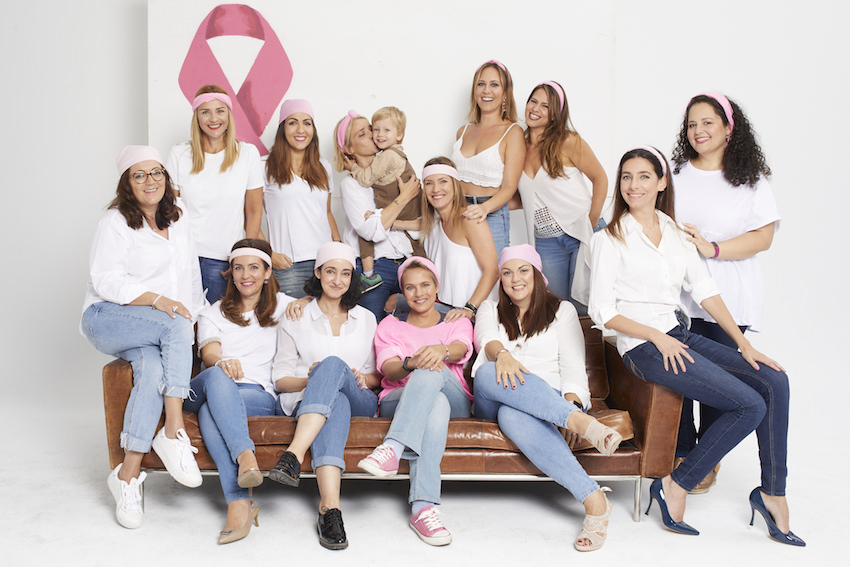 cancer de mama ausonia lazo rosa
