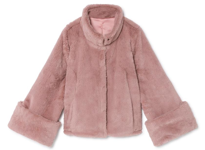 Javier simorra abrigo rosa
