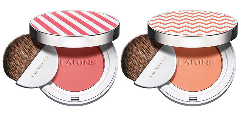 blush clarins milky shake collection