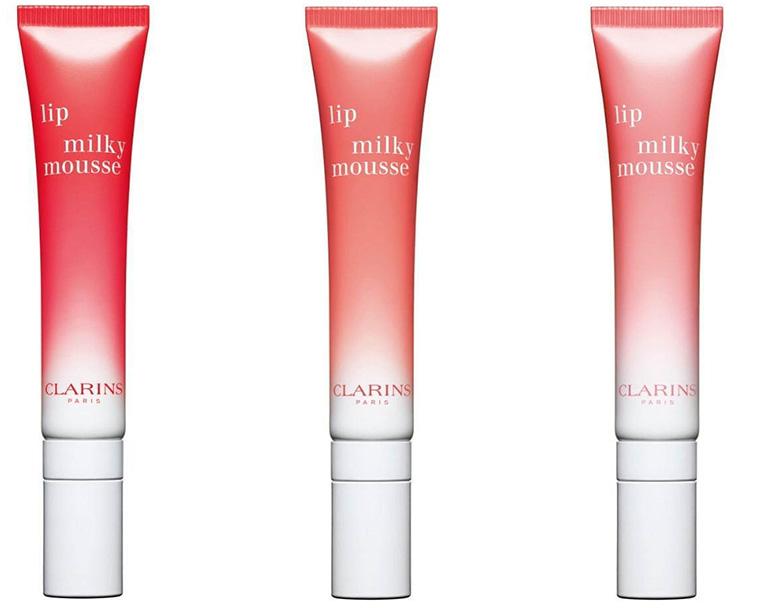 lip milky clarins