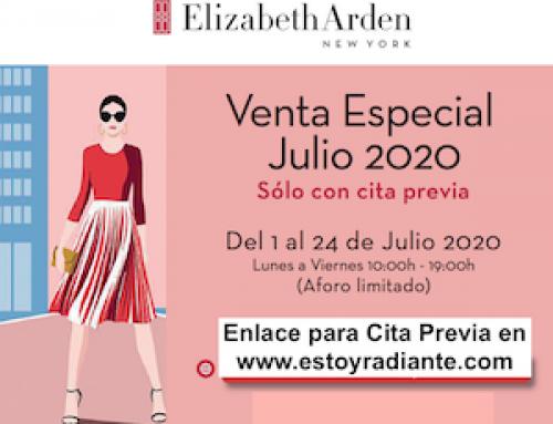 Venta especial Elizabeth Arden Julio 2020