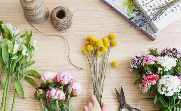 secar flores en casa