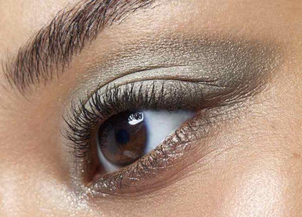 maquillaje ojos sombras verdes