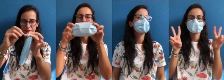 tutorial mascarilla no manchar labios
