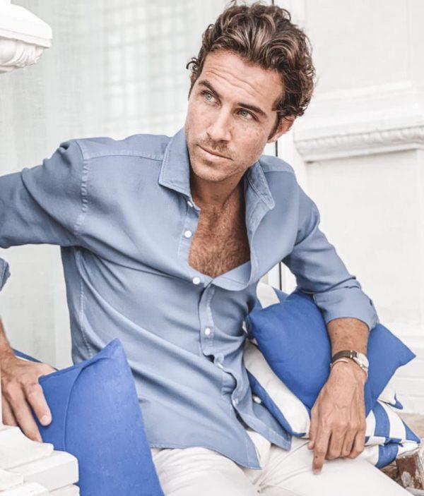 camisa cloking azul