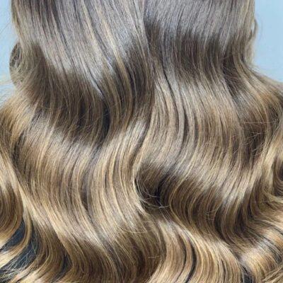 técnicas de color cabello Melting